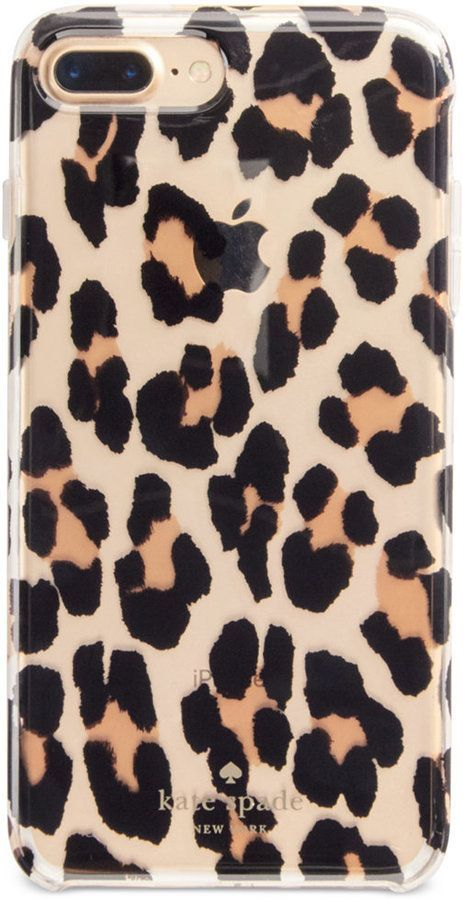 innovative design e3d78 98776 kate spade new york Leopard Clear iPhone 7 Plus Case | KATE SPADE ...