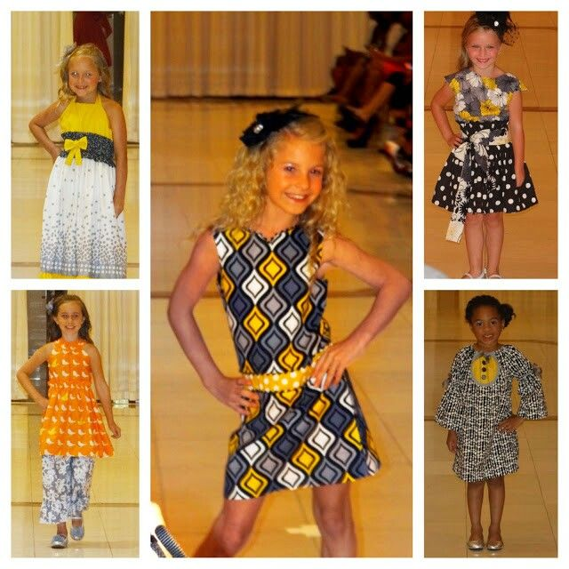 Kids rip the runway for AIFW at 200 Peachtree with Ruffled Runway  7.26.13