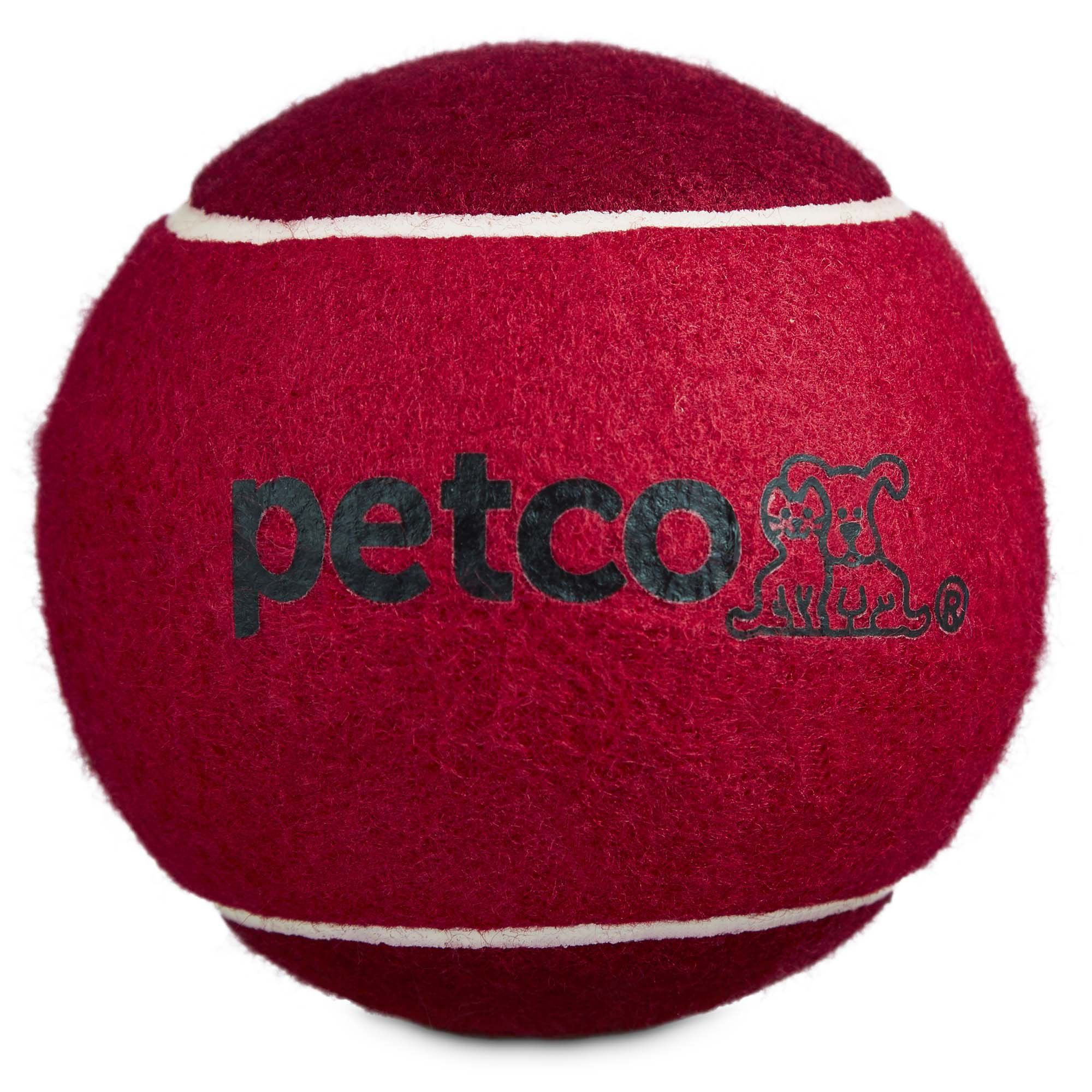 Jumbo Tennis Ball Dog Toy In Assorted Colors 4 75 Dog Toys