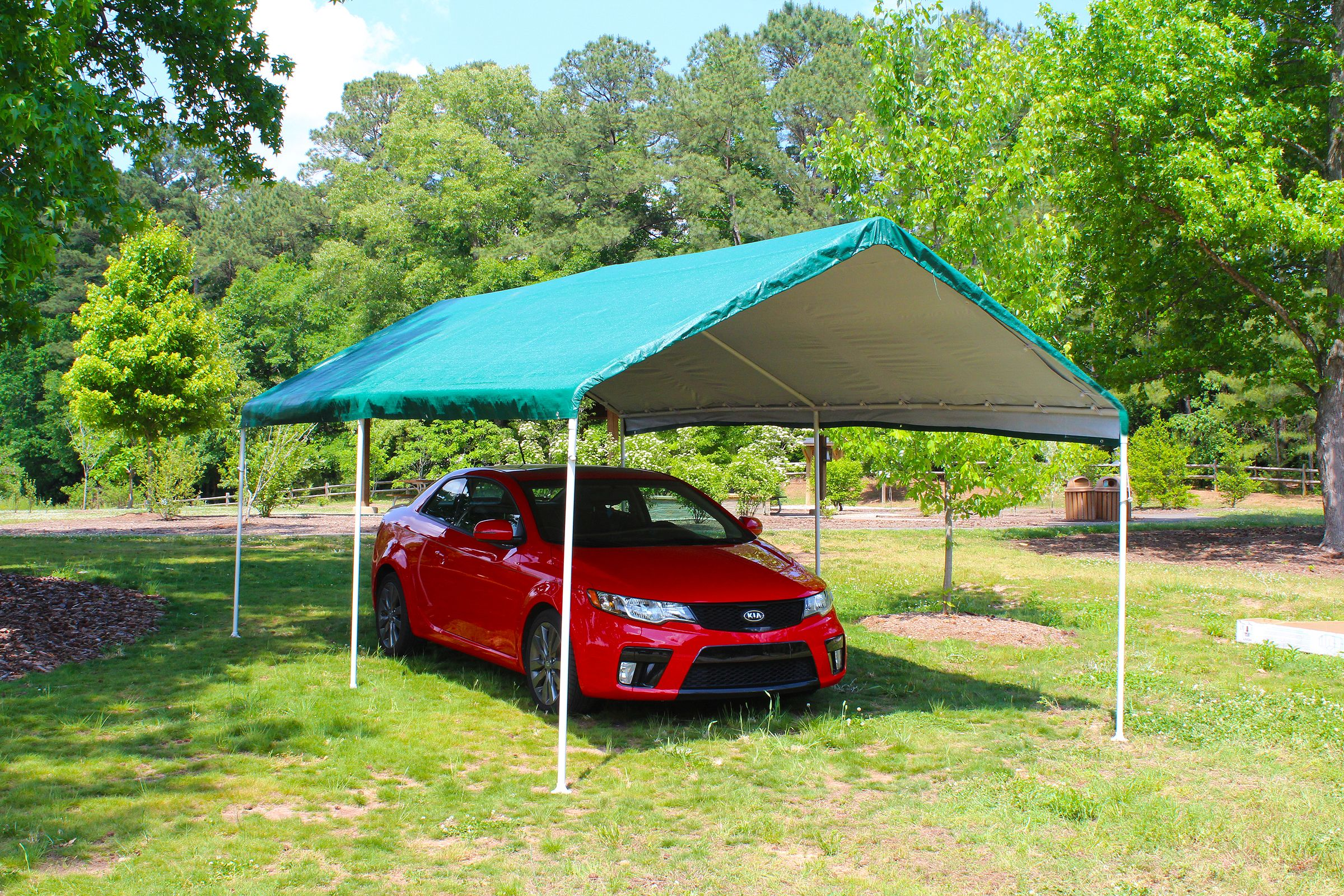 Universal 6 Leg 10 X20 Green Canopy Www Kingcanopy Com Canopy Portable Shade Patio Umbrella