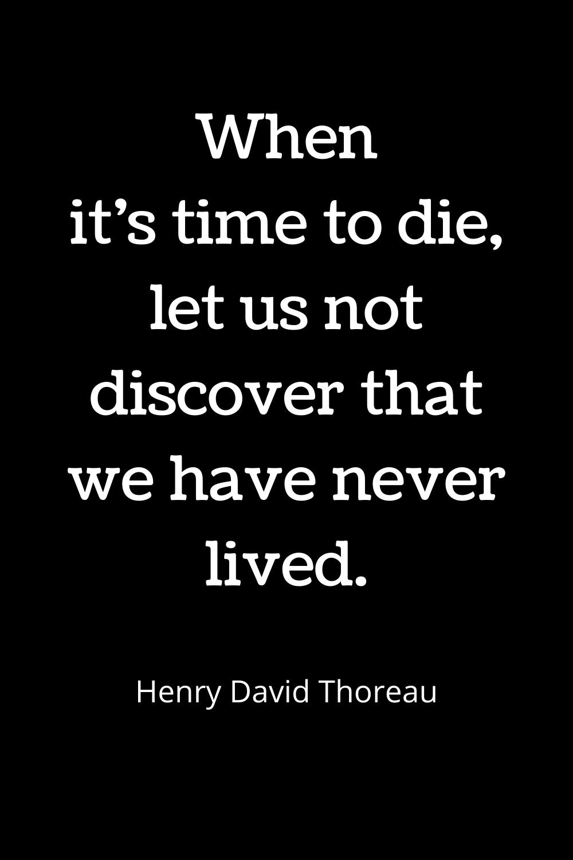 Quotes. Henry David Thoreau