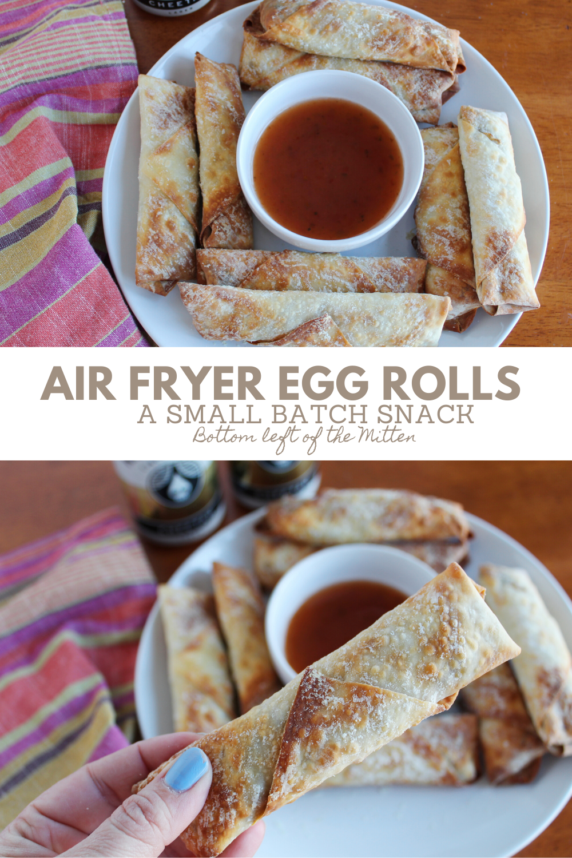 Air Fryer Egg Rolls Recipe Food recipes, Egg rolls, Food
