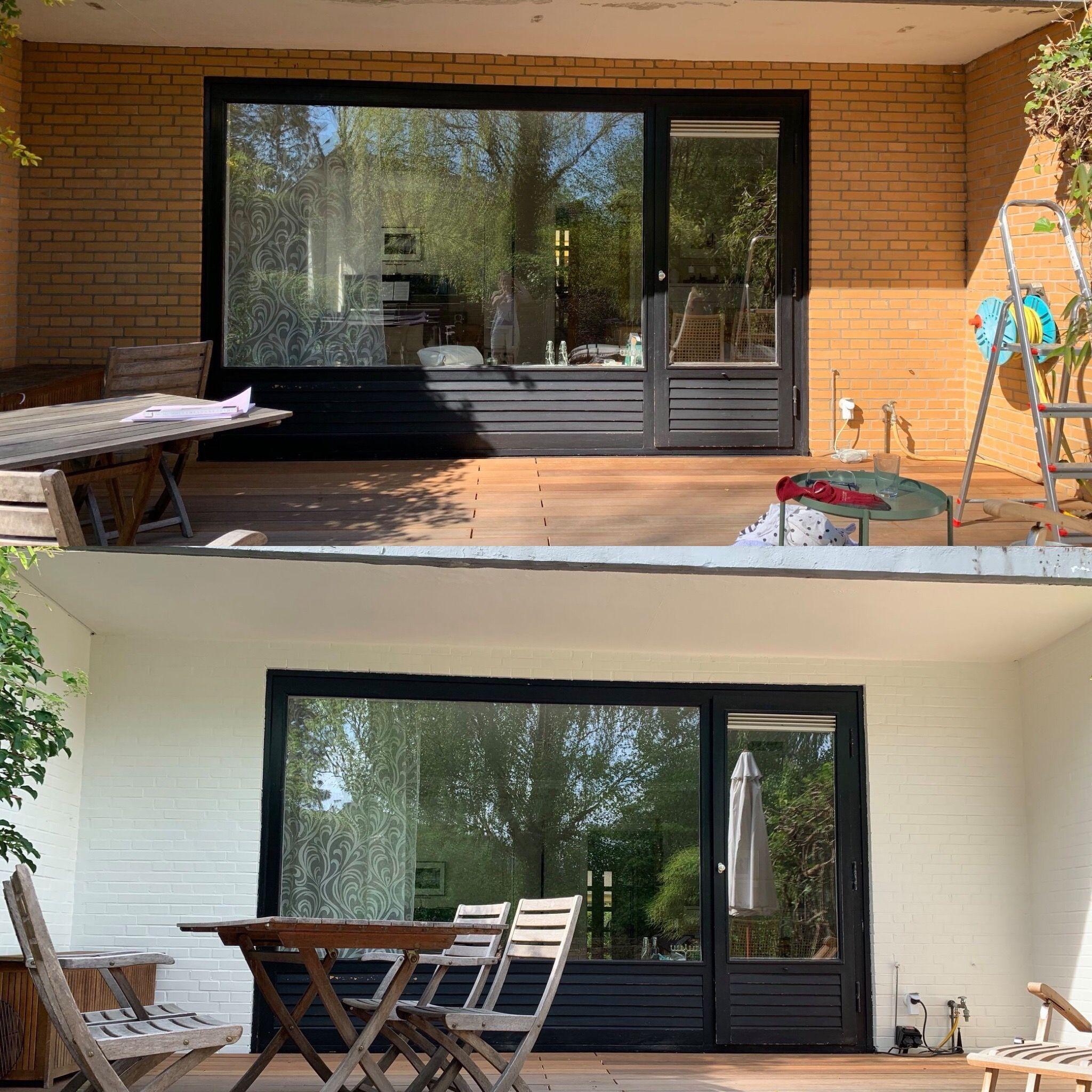 Jetzt Kreidefarbe Als Outdoorfarbe Nutzen Misspompadour Aussenwandfarbe Fassade Klinker Klinker