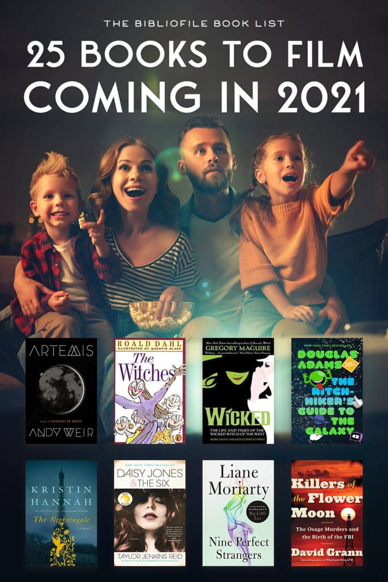 Best Books To Read 2021 Books to Film 2021   Every 2021 Book to Movie & TV Series