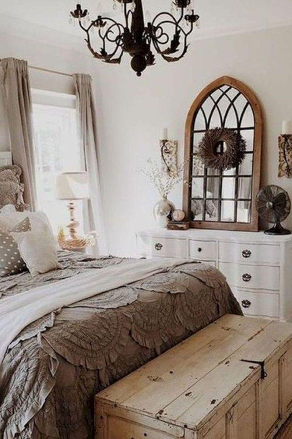 38 Classy Farmhouse Bedroom Design Ideas | Farmhouse Style | Modern