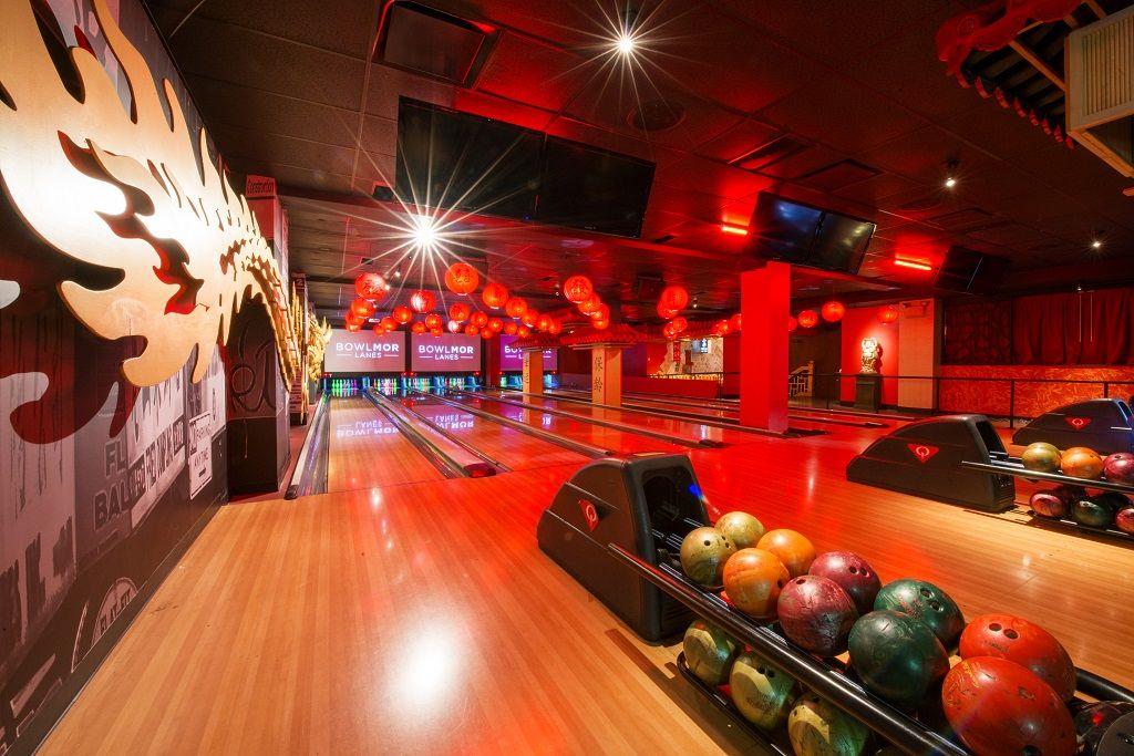 Bowlmor Times Square New York bowling