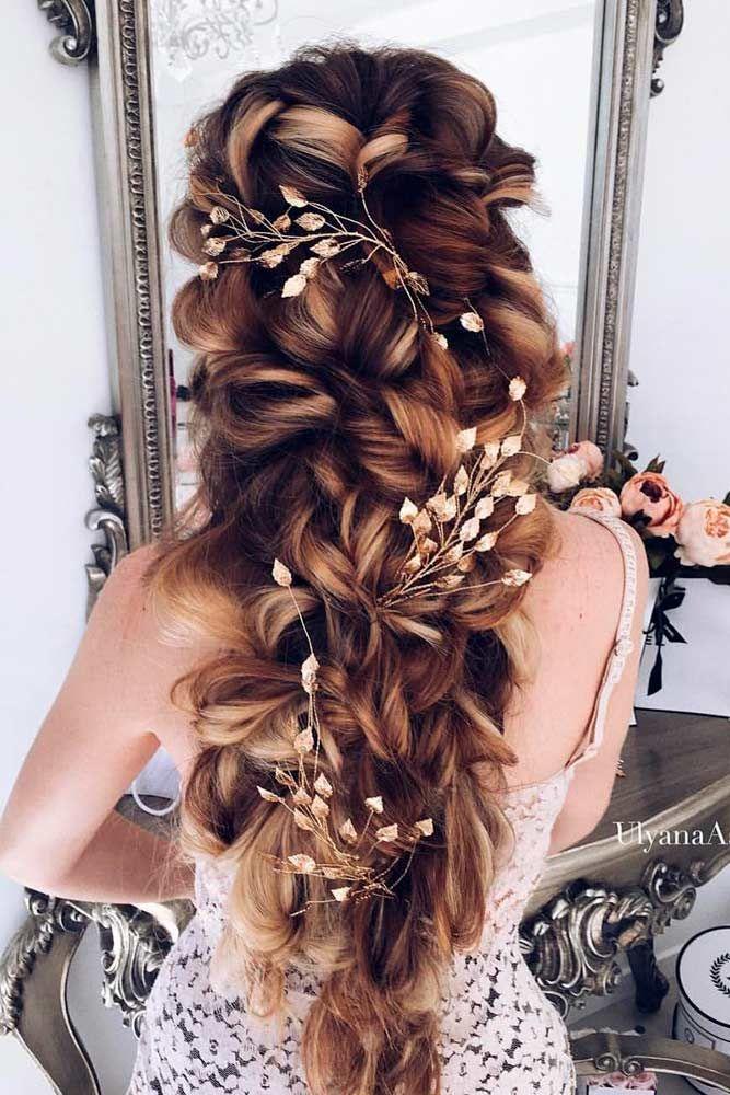 33 Elegant Wedding Hairstyles For Long Hair Elegant Wedding Hair