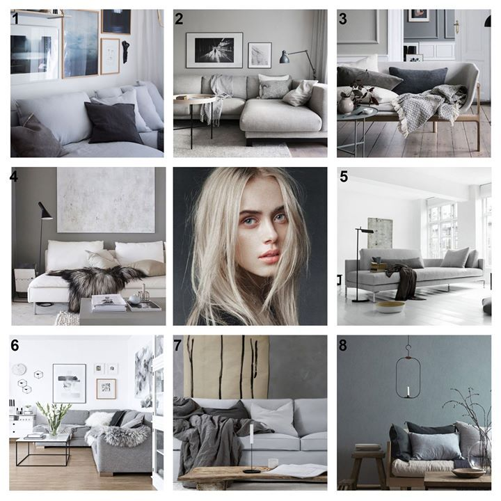 Emily Henderson Interior Design Blog: SHADES OF GRAY: LIVINGROOM 1. Decors Idea 2. Style By