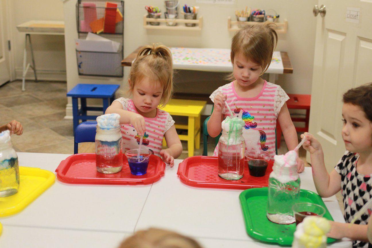 Rainy Day Inspiration In Preschool