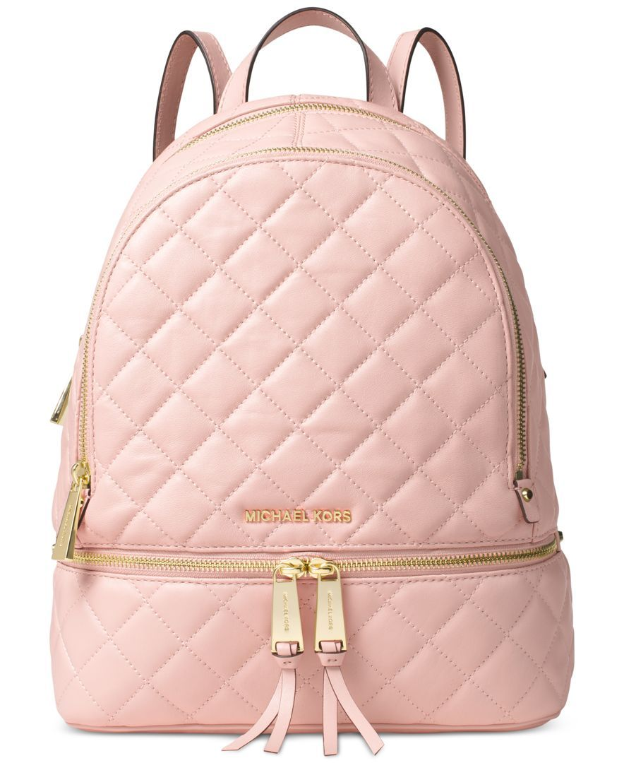 Embrace the laid-back luxury of Michael Michael Kors' quilted ...