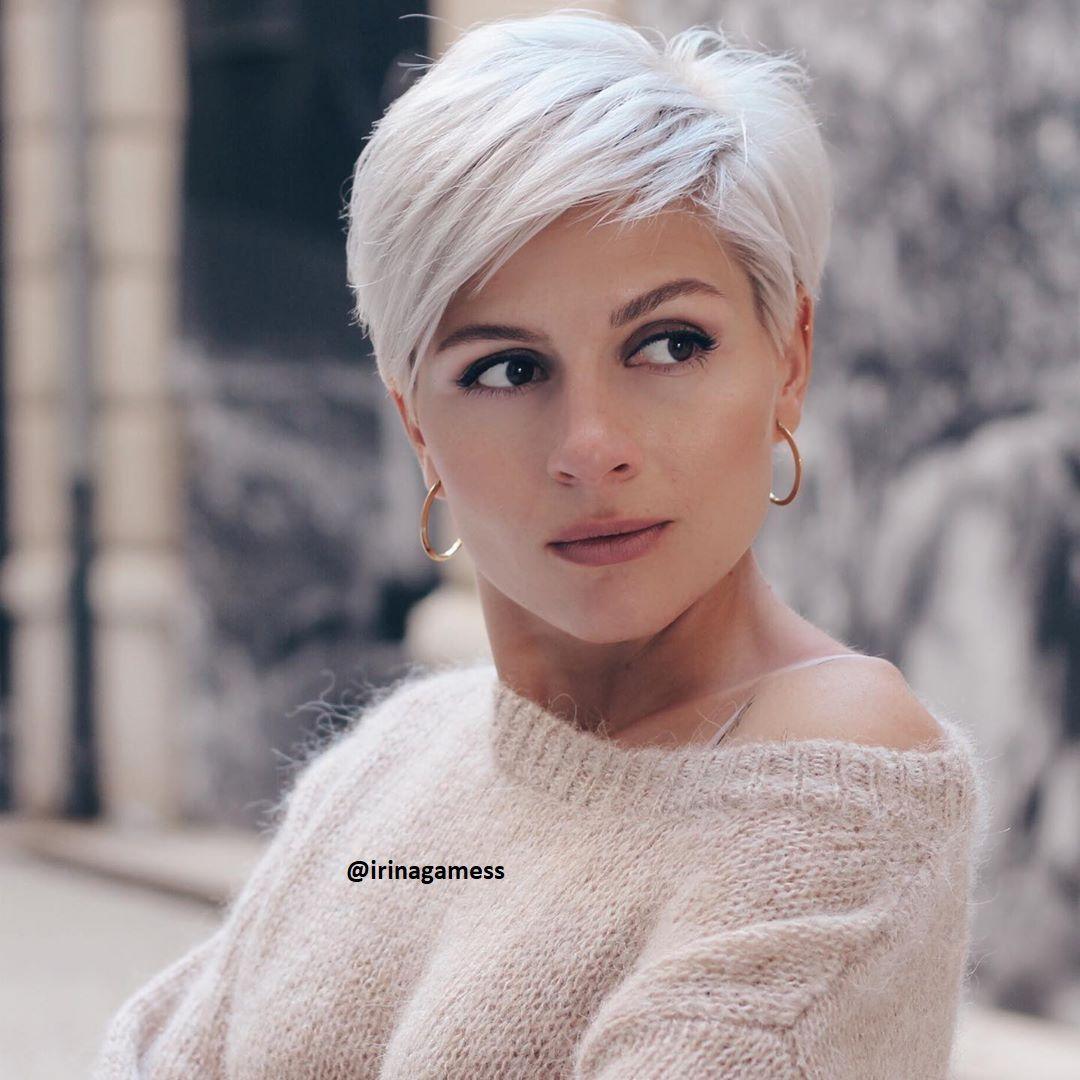 Platin Blond bei kurzen Haaren Neue Frisuren – Frisuren Stil Haar – kurze und lange Frisuren