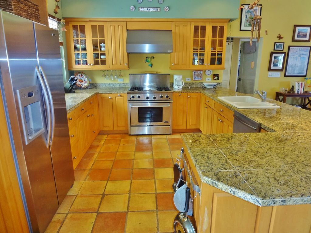 Bianco Romano Granite Kitchen Rustic Kitchen With Simple Granite Tile Counters Bianco Romano