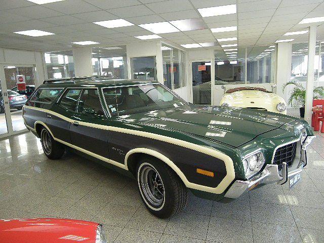 1972 gran torino station wagon