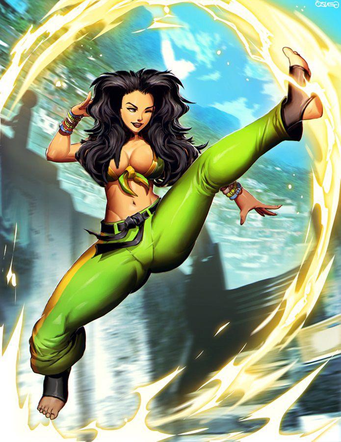 Laura Street Fighter V SFV by Tress-Manipulator deviantart