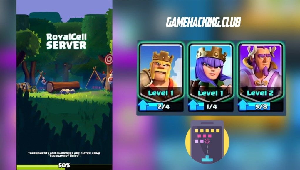 Clash Royale 2 1 7 Private Server - Mythical Cell Private