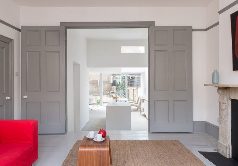 Modern Painted Interior Doors plimsoll road, highbury, london n4 — the modern house estate