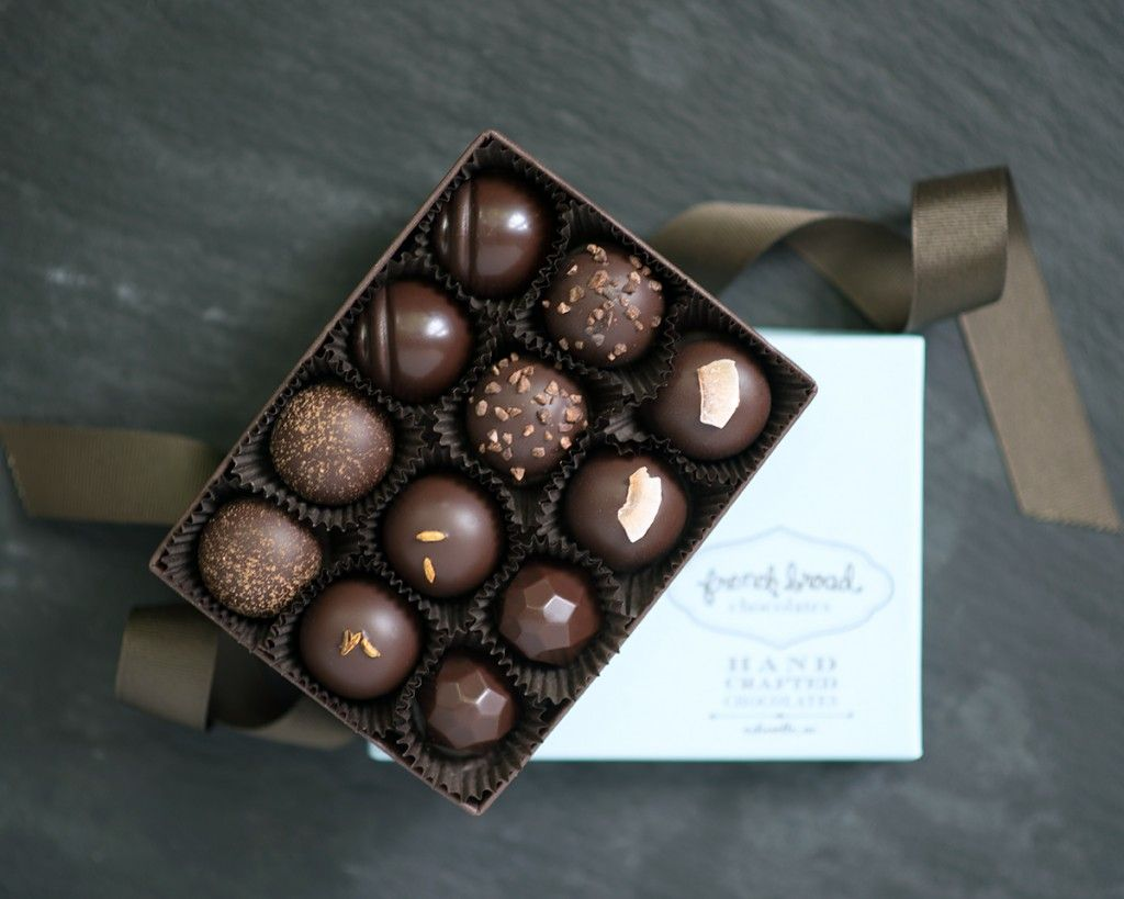 French Broad Chocolates Buddha Collection Truffles | Vegan Sweets ...