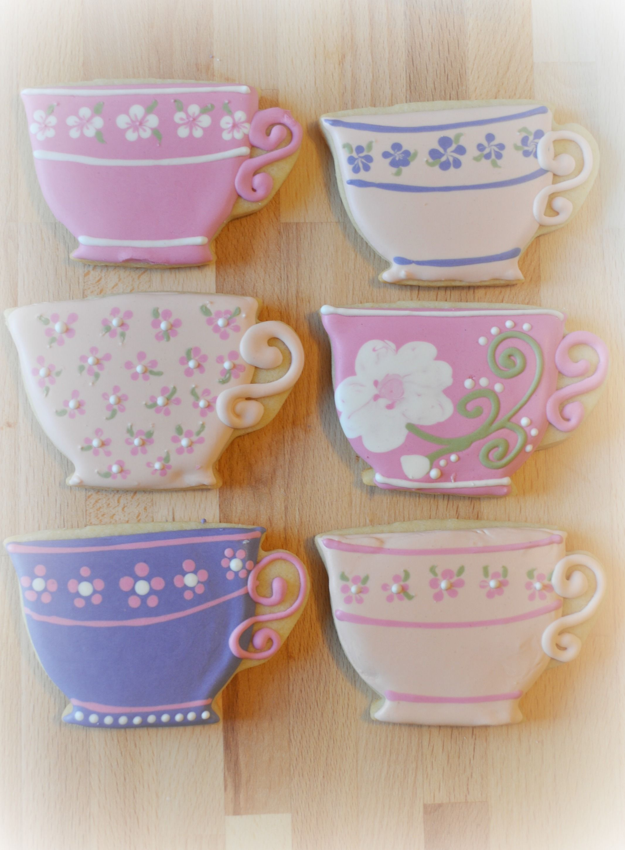 projects idea unique tea cups. How to Make Teacup Cookies  Downton Abbey Suz Daily