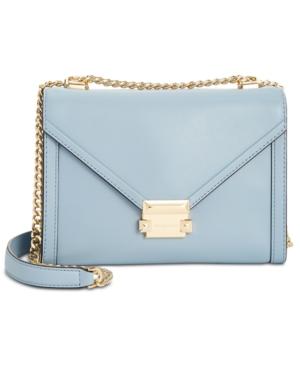 af2262415 Whitney Polished Leather Shoulder Bag   Products   Bags, Shoulder ...