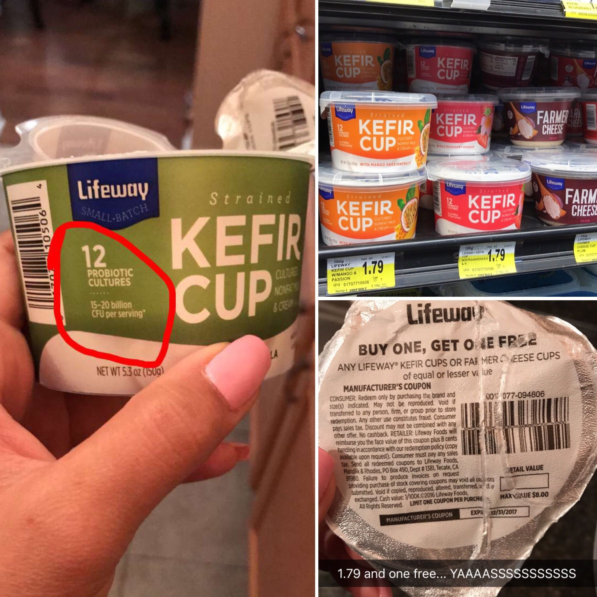 So I Love These Lifeway Kefir Cups All The Benefits Of Kefir In To Go Single Serving That Comes With A Spoon Many Fla Kefir Benefits Kefir Kefir Probiotic