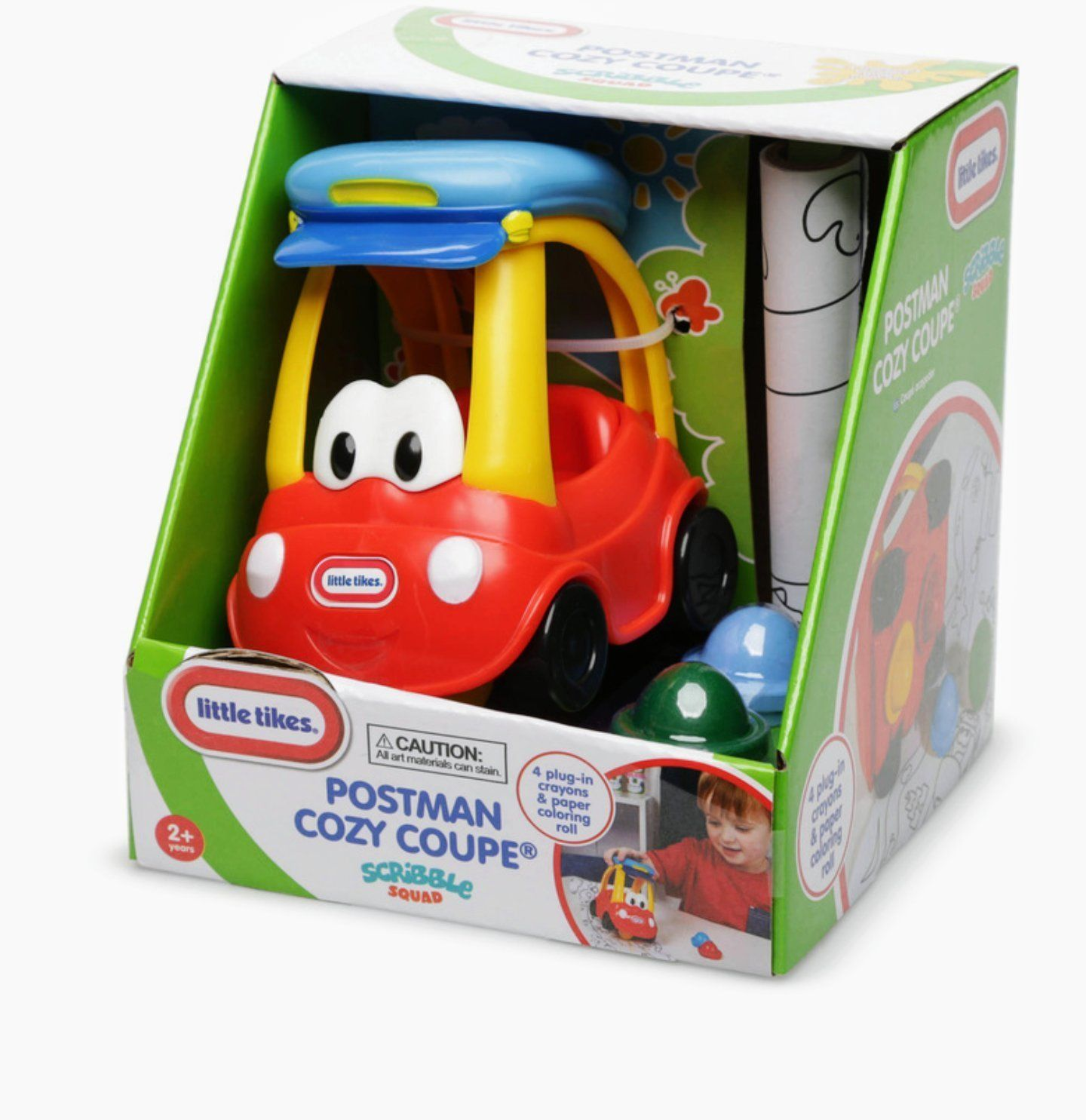 Toys car for boy  Little Tikes Toddlers Scribble Squad Crayon Cozy Coupe Car  Chloe