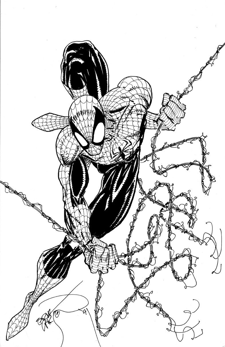 erik larsen draws spider man comics pinterest spider man