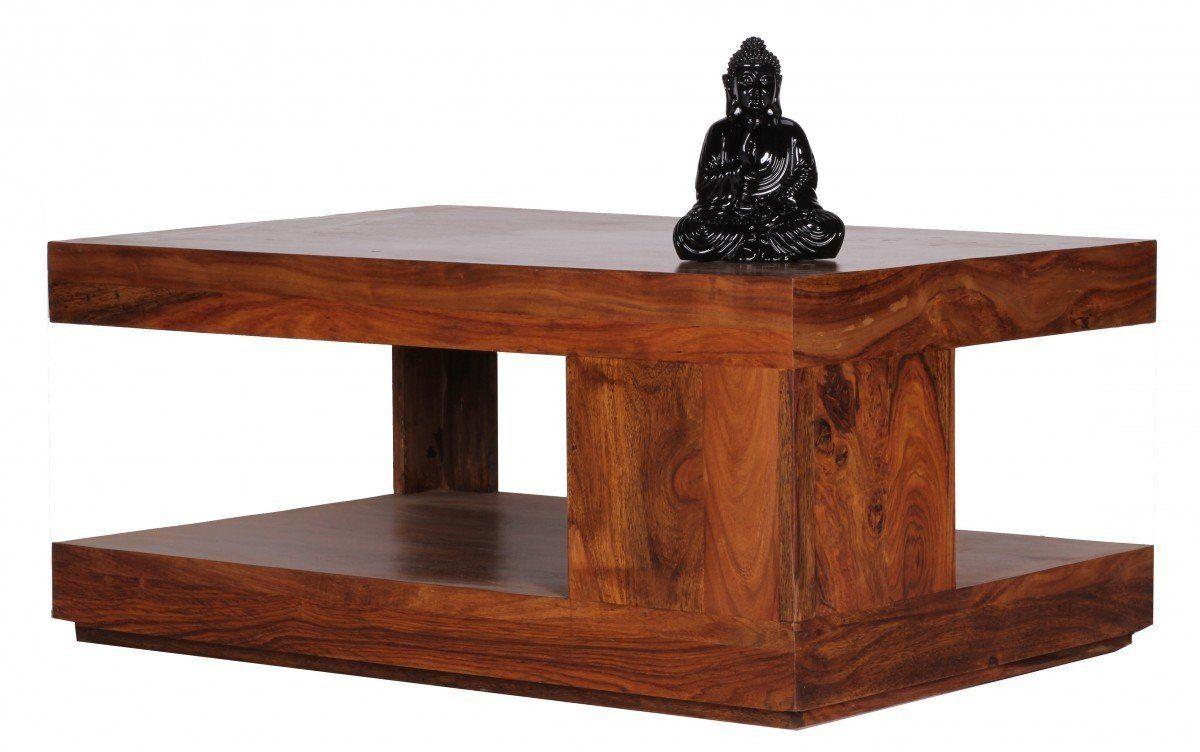 finebuy table basse en bois de sheesham
