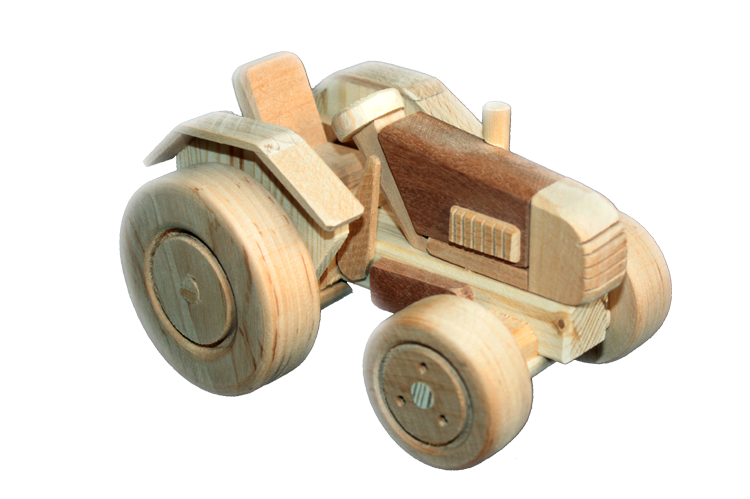 Wooden Toys Wooden Toy Tractor Harvester Wooden Toys Wood Toys Little Boy Toys