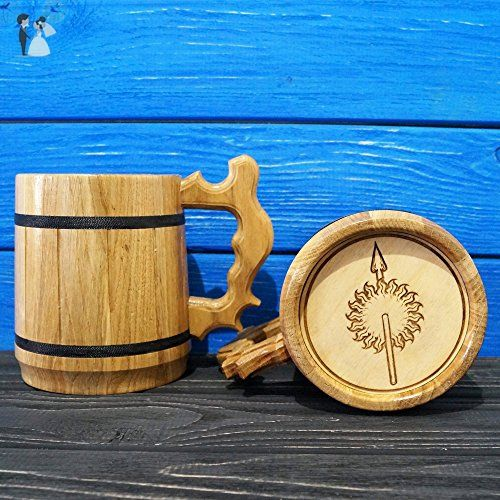 Of Thrones Martell Beer MugGame House Wooden GiftEngraved j354ARL