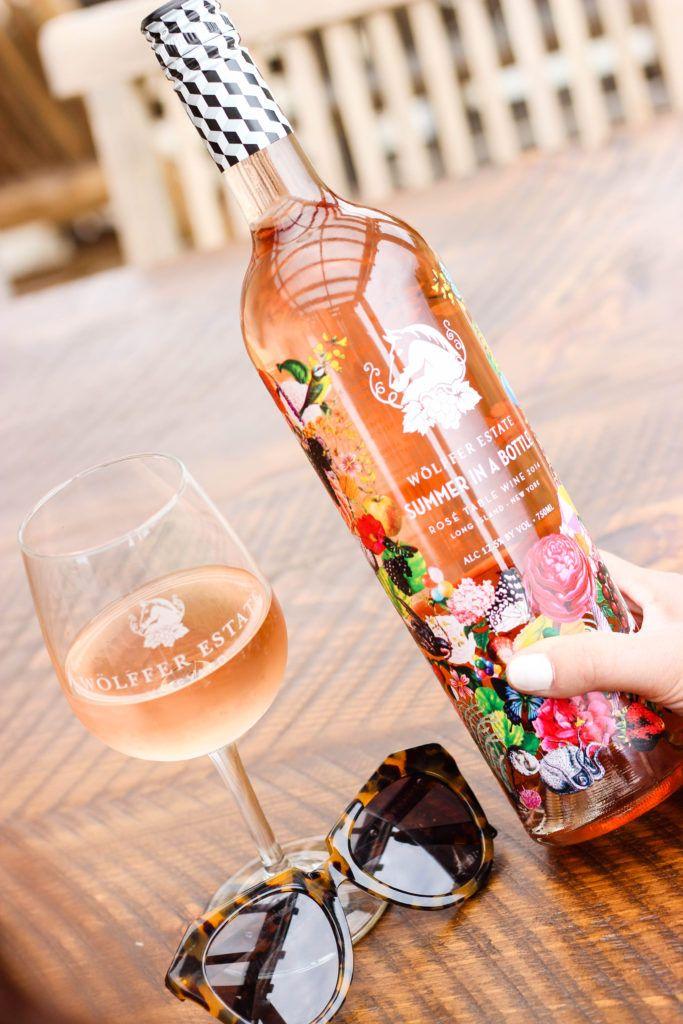 Wolffer Estate Summer in a Bottle Rose.