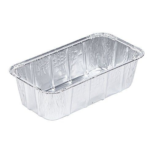 Handifoil 1 Lb Disposable Aluminum Loaf Pan 25 Count 6 Loaf