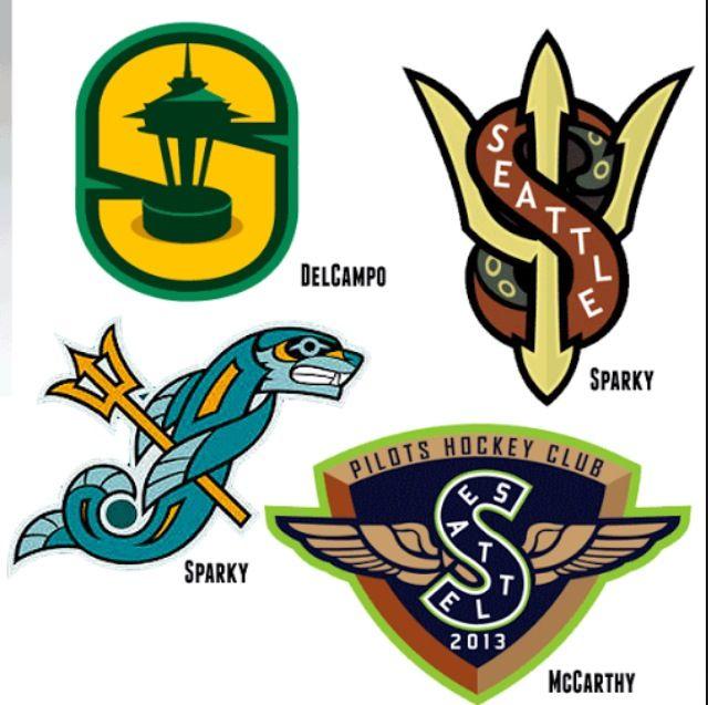 Seattle Hockey Concept Designs Nhl Logos Logo Concept Hockey Logos