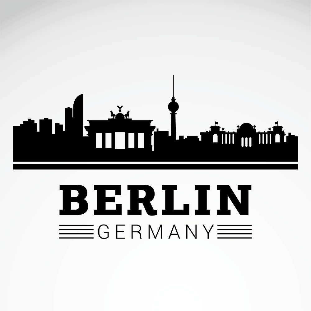 Berlin City Skyline Free Vector Cdr Download 3axis Co Berlin Berlin City Travel Journal