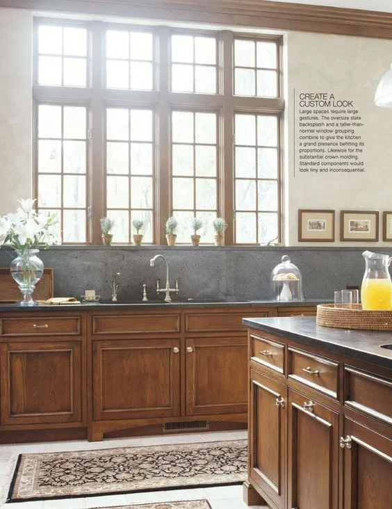 Gallery of soapstone Kitchen countertops with various cabinet choices – CROCODILE ROCKS