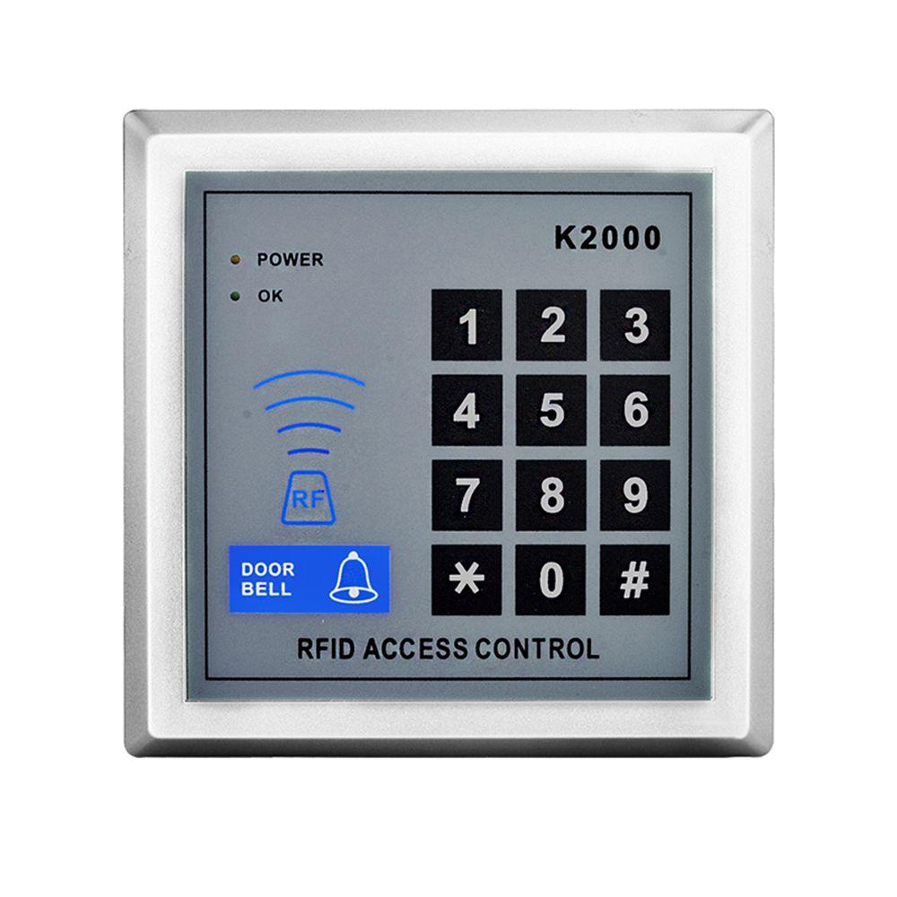 Rfid Access Control K2000 Keypad Rfid Key Fob Readerl For Door Lock System Access Control Access Control System Door Locks
