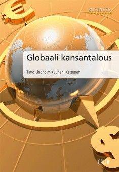 Kuvaus: Globaali kansantalous on kansantalouden perusteos, jossa on globaali näkökulma kansantalouteen. Kirjassa kuvataan yritysten ja talouksien kansainvälistymistä. Kansantalouden perusteorioita, käsitteitä ja ilmiöitä käsitellään käytännönläheisesti ja modernilla otteella.
