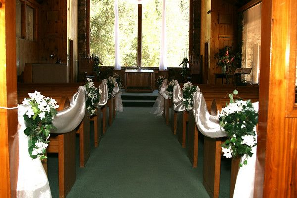 church wedding altar