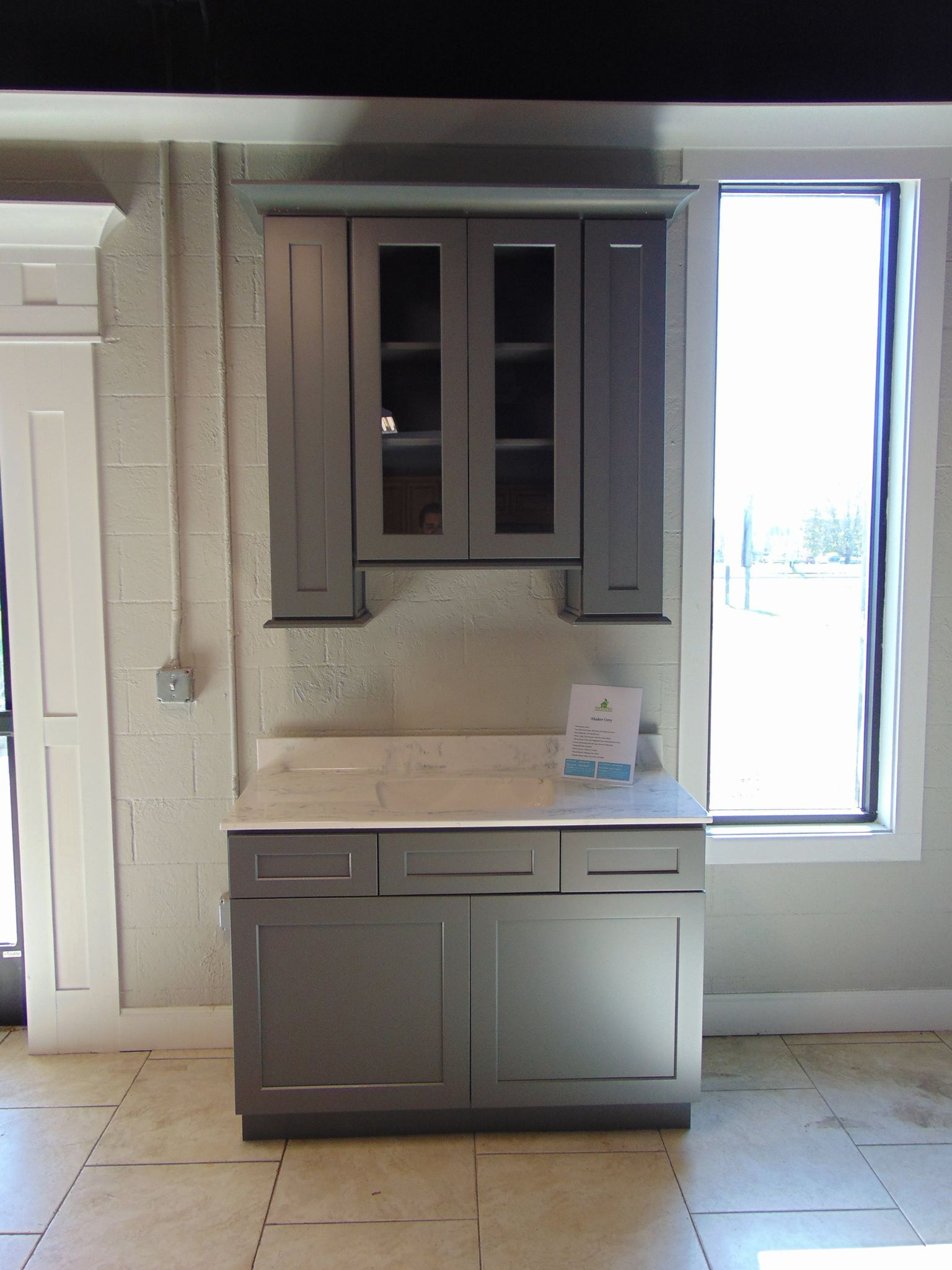 Lily Ann Cabinets Shaker Grey Lily Ann Cabinets Copper Kitchen Accents Vintage Bathroom Tile