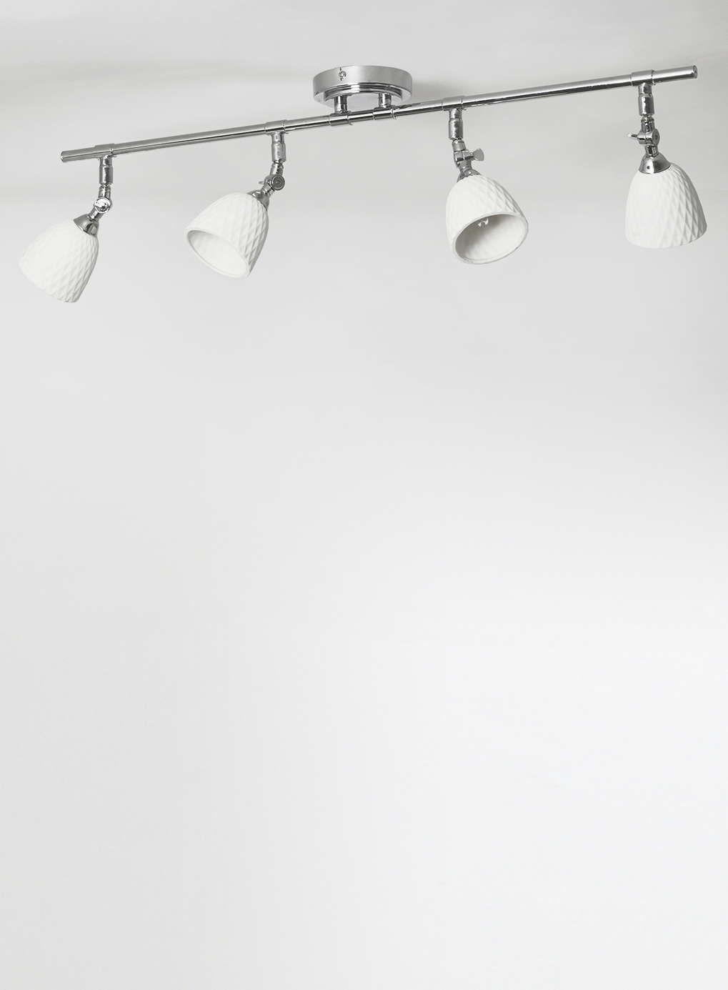 White Ceramic 4 Light Bar Spotlights - BHS | Lighting for home ...