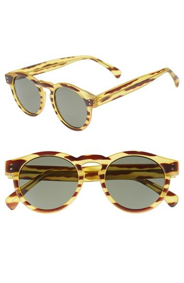 c42cc1129130 Free shipping and returns on Komono  The Clement  49mm Sunglasses at  Nordstrom.com. Rounded frames and a keyhole bridge amplify the old-school  appeal of ...