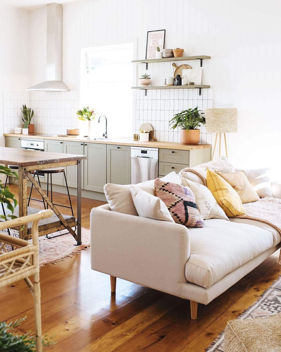 Living Room And Dining Room Together: Insta And Pinterest @amymckeown5