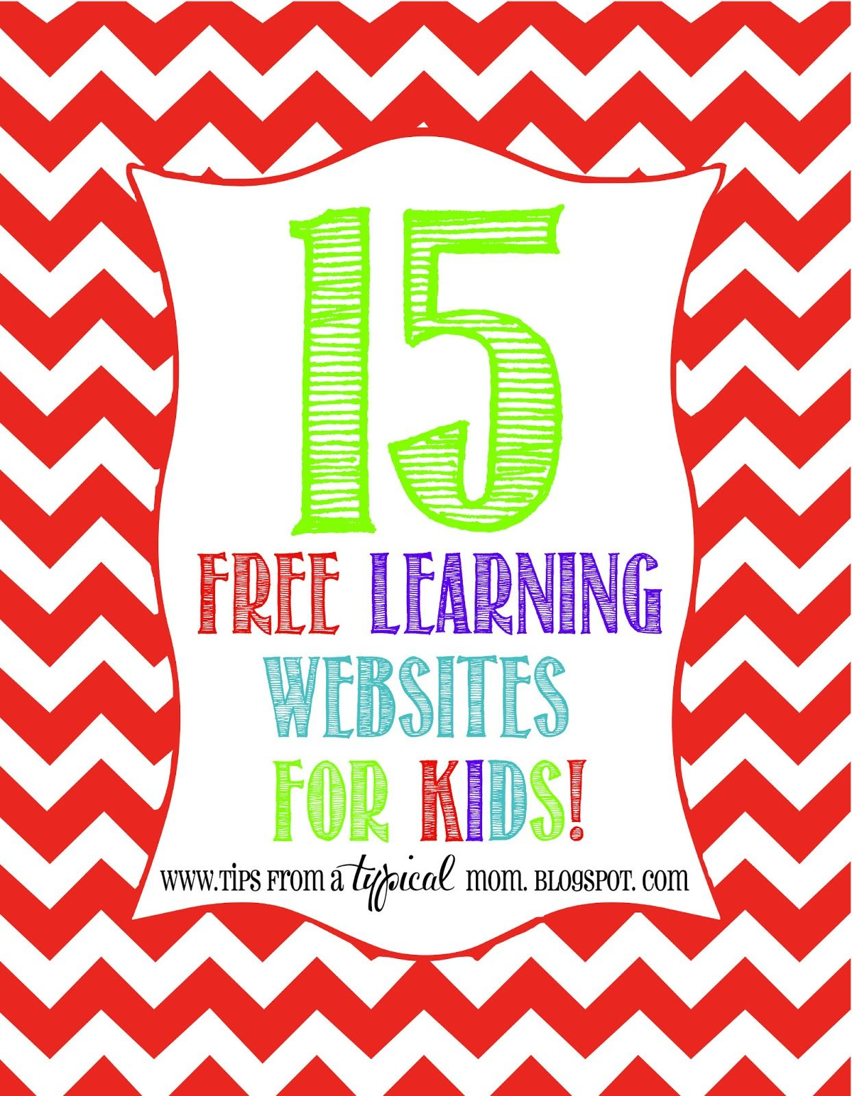 15 Free Learning Websites For Kids