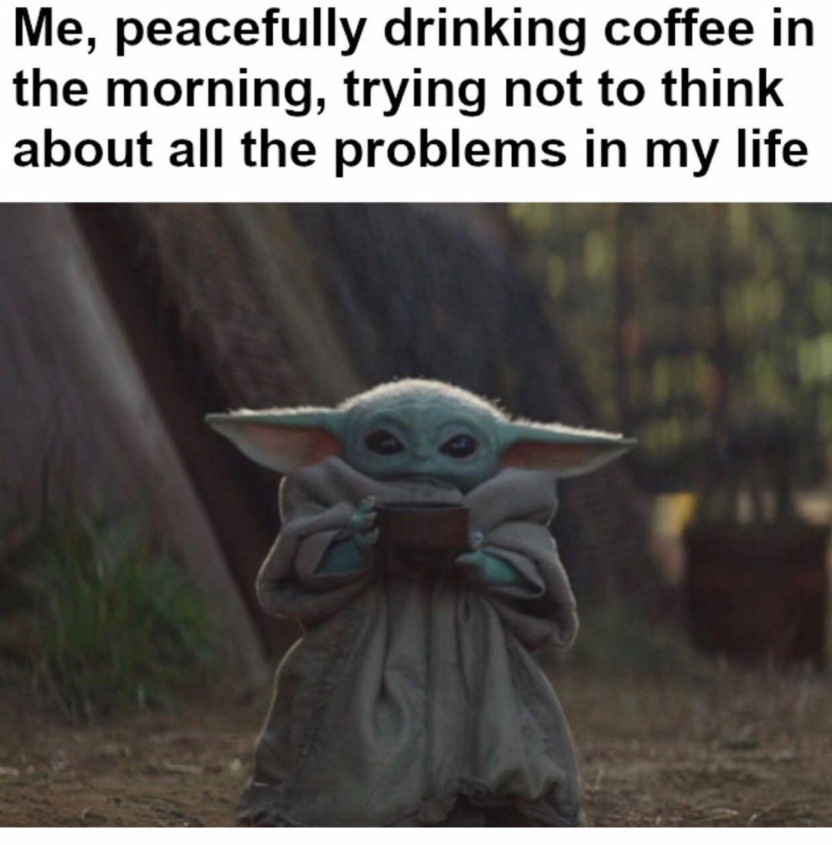 Baby Yoda Memes Yoda Meme Yoda Funny Funny Memes