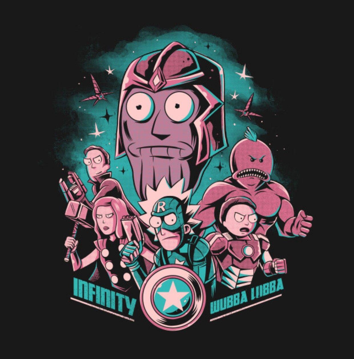 Rick and Morty x Infinity War | Rick et Morty | Rick ...