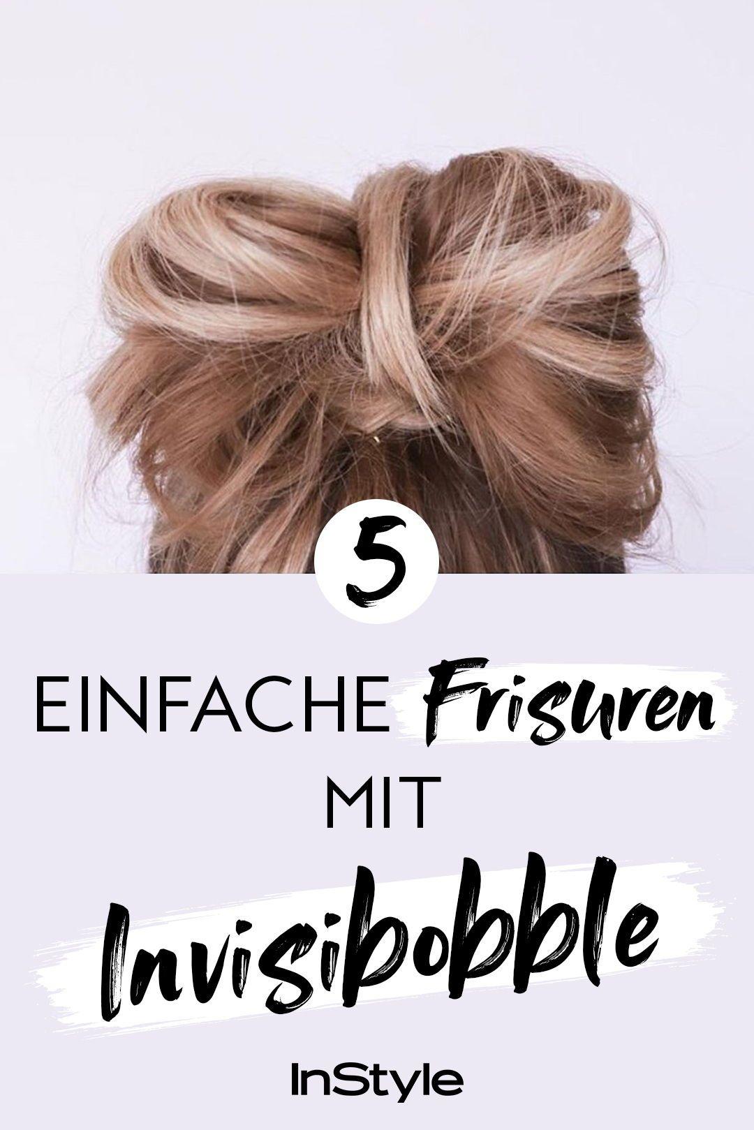 Tolle Haare In Sekunden Fur Diese 4 Coolen Frisuren Brauchst Du Nur Einen Invisibobble Tolle Haare Frisuren Haare Pflegen