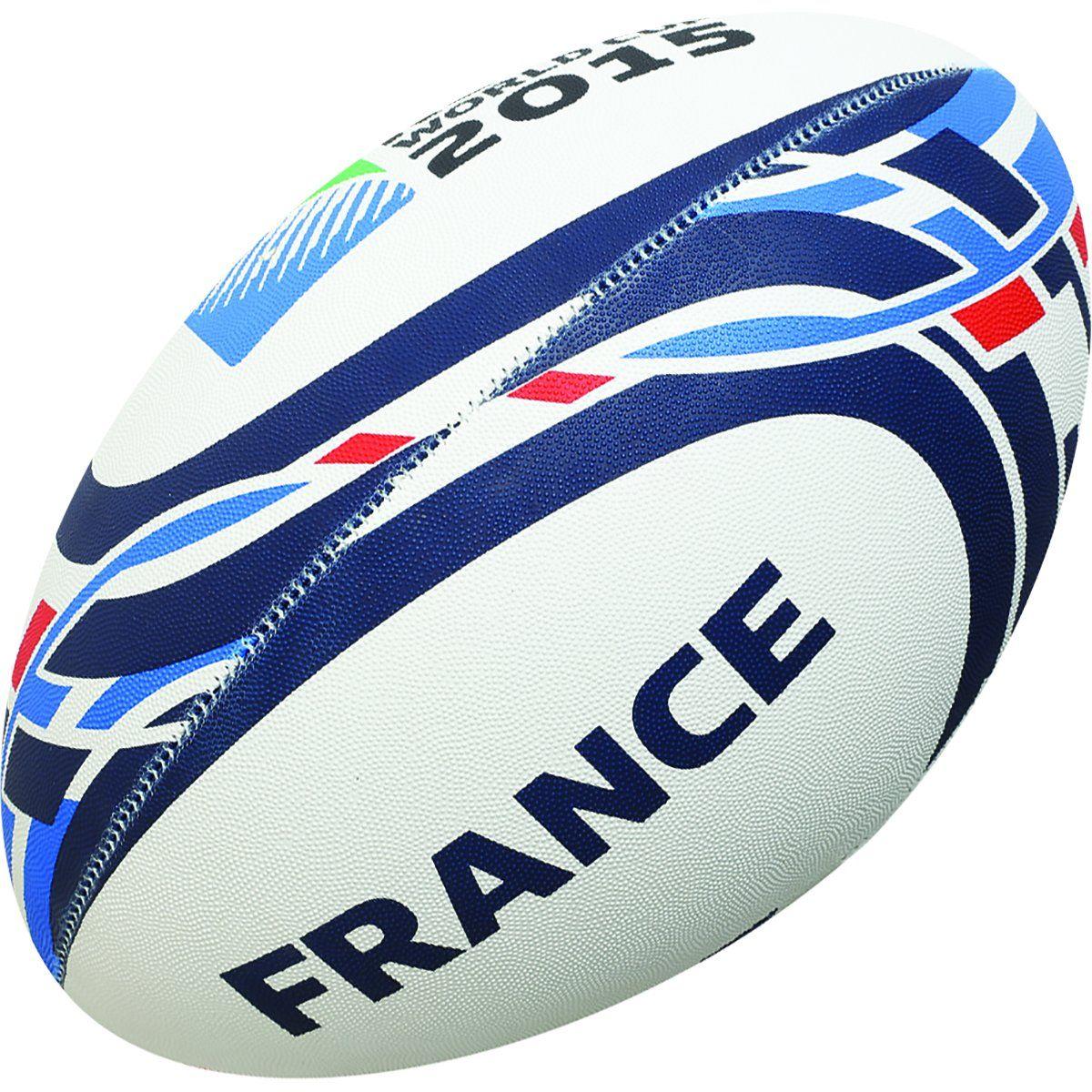 meilleures chaussures produit chaud magasin en ligne GILBERT Rugby World Cup 2015 FRANCE Ballon de Rugby de ...