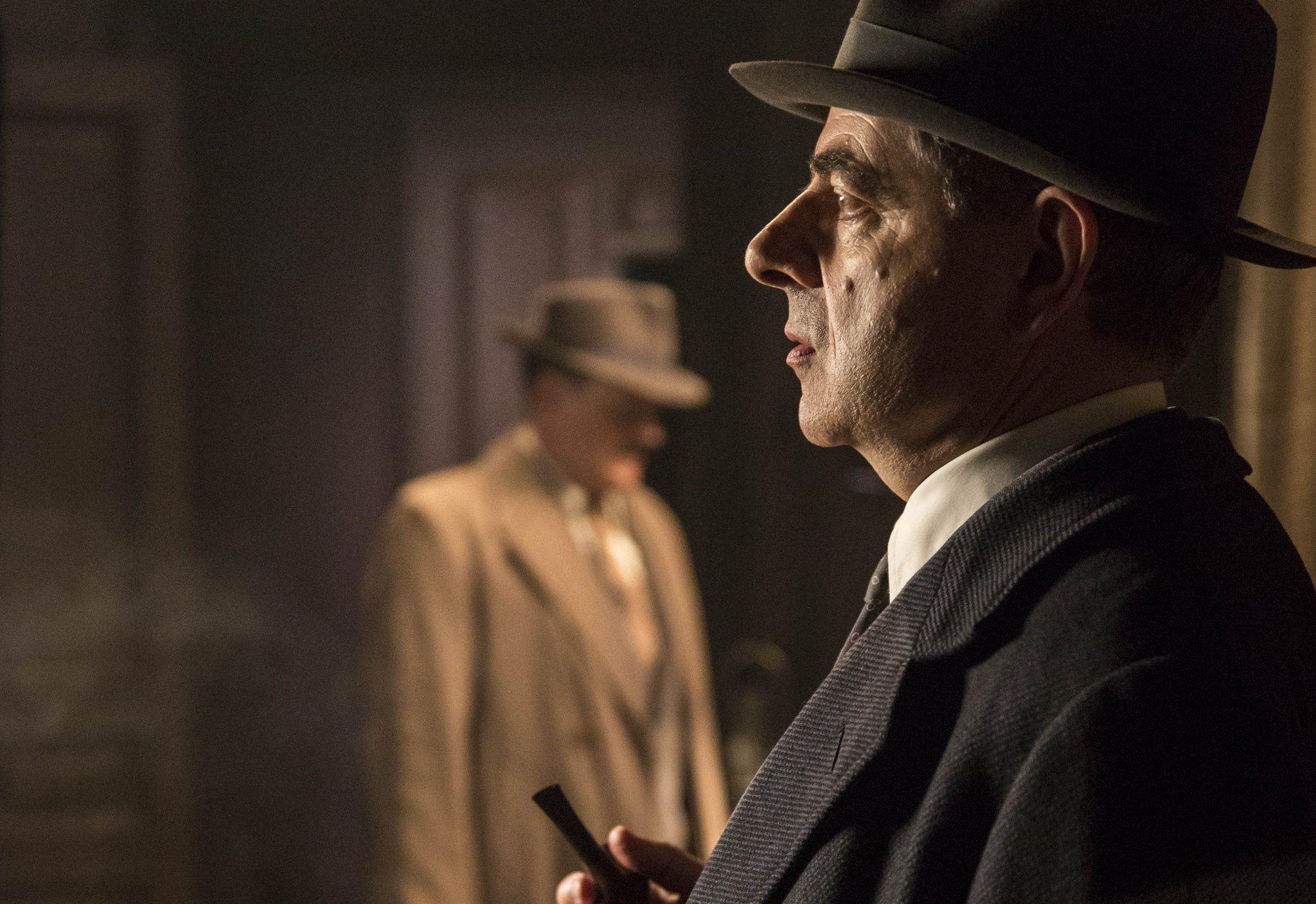 Rowan Atkinson in Maigret's Dead Man © ITV plc