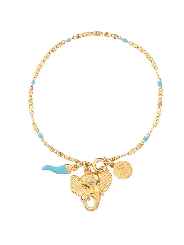 Turquoise Elephant Bracelet