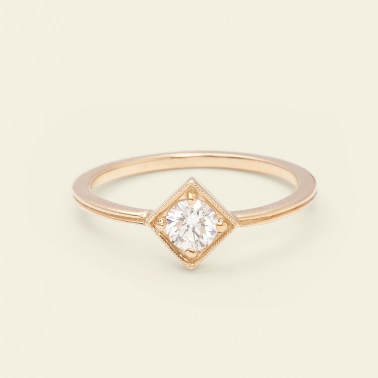 our favorite cushion toprosegoldcushioncut top gold rings rose blog engagement cut diamond