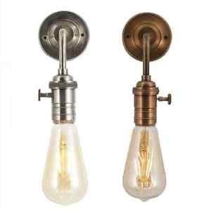 Wall Light Vintage Edison Sconce Bathroom Safe Zone 2 Bulb